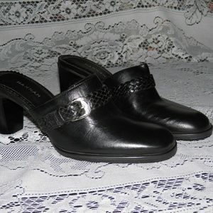 Like New Black Mule with Heel size 6.5